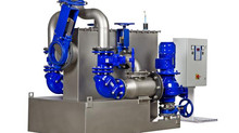 KSB's all new AmaDS³ wastewater pump station with solids separation system
