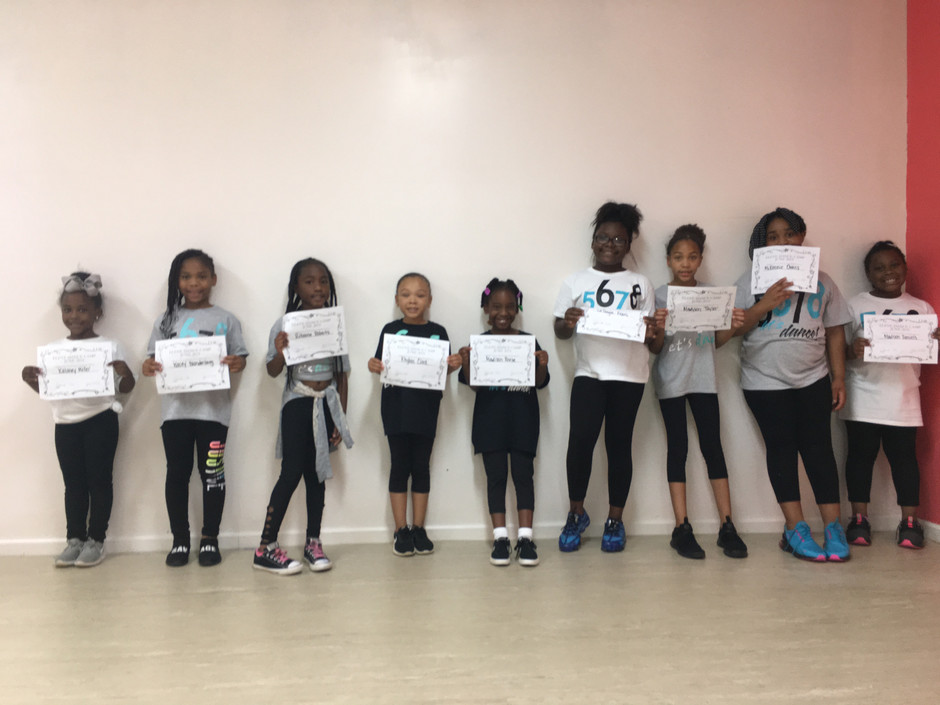 Our dancers have successfully completed a week of summer camp!