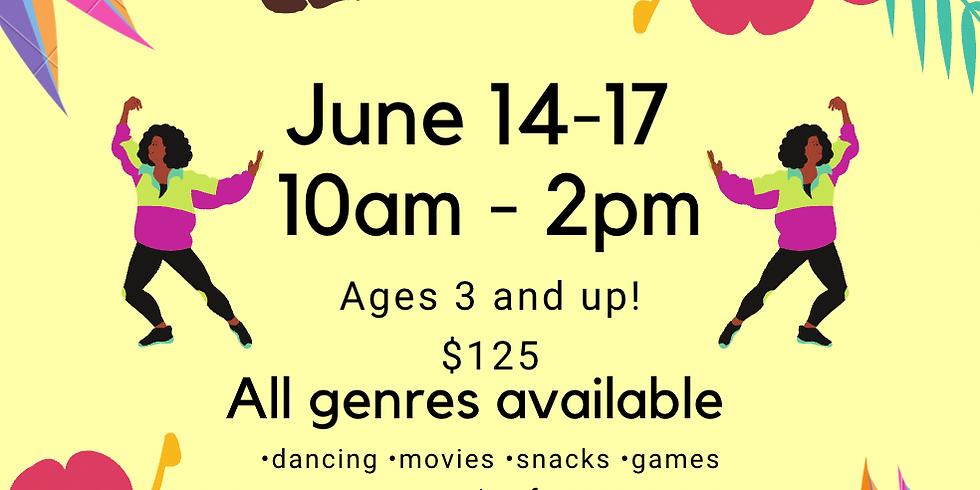 Summer Dance Classes (4 days)
