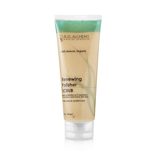 Renewing Polisher Scrub - RD Alchemy Natural Organic