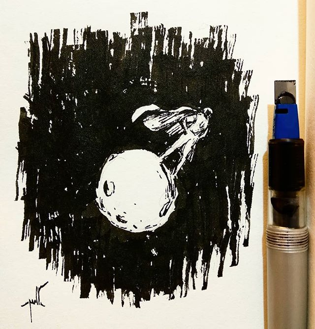 "INKTOBER, day 8. ""Star"""