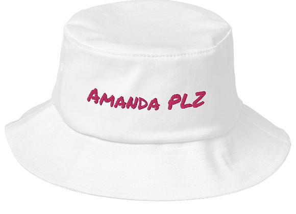 Amanda PLZ Old School Bucket Hat