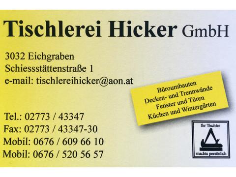 Tischlerei Hicker GmbH