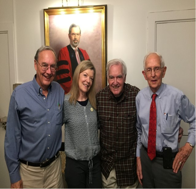 Tim Kelley, Teresa Brooks, Steve Michelman and Frank Patton
