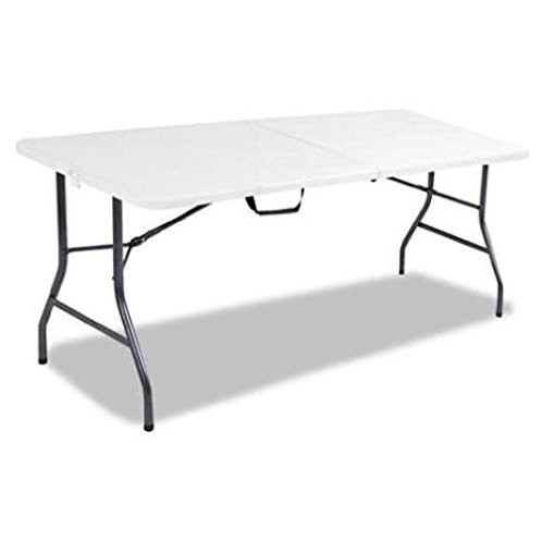 6 foot white rectangle tables