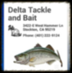 Delta Tackle, California Delta.