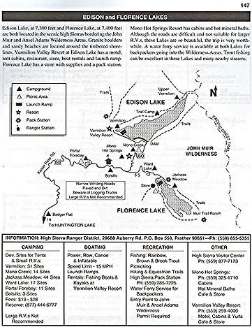 Recreation Lakes of California