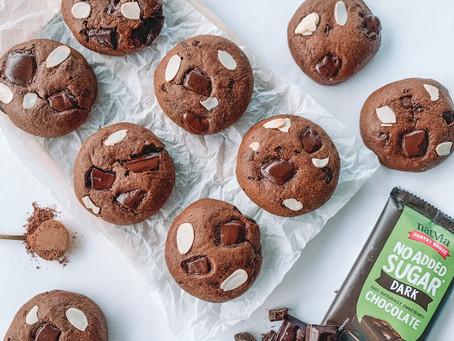 GF & DF Choc Brownie Cookies