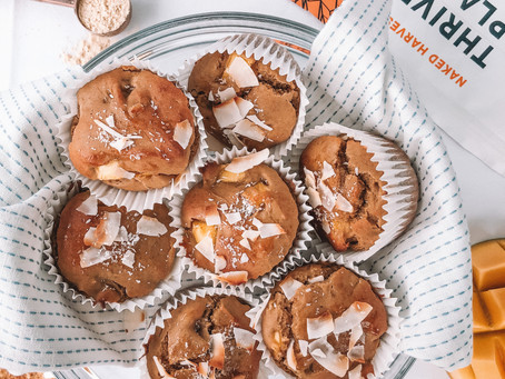 GF & DF Mango Coconut Muffins