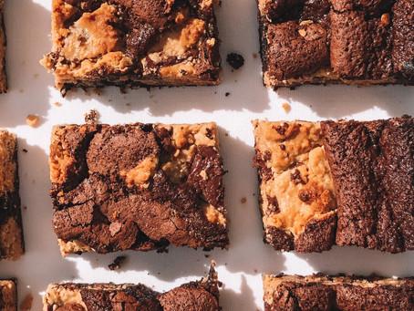 GF & DF Cookie Fudge Brownies