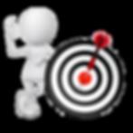 3d Männchenfigur | OK Zeichen | Schiessscheibe mit Pfeil