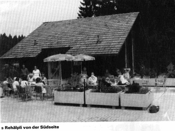 Clubhaus Terrasse 1976