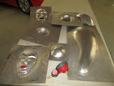custom Metal forming with ezhammer