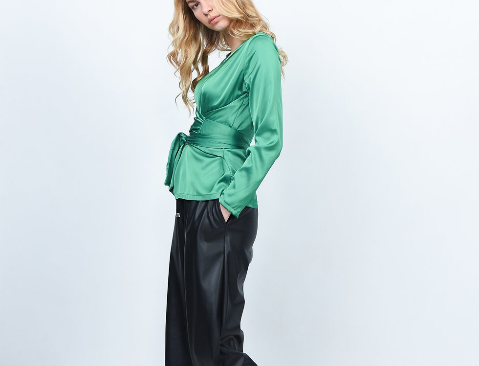Ripple Bow Blouse