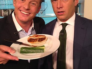 Karl Stefanovic eats the WORLD's hottest chilli pie on The Today Show
