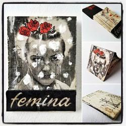 mother or master_ a social primer_mixed media, cut & paste mini-book_3.75 × 2
