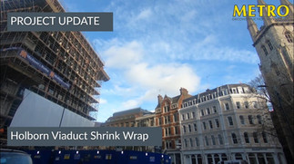 Holborn Viaduct Shrink Wrap