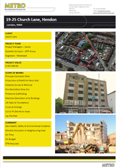 19-25 Church Lane, Hendon