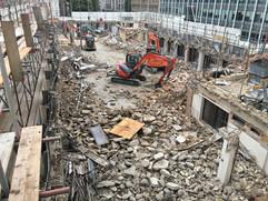 Holborn Viaduct Demolition
