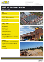 UPS & DHL Warehouse, Chelmsford