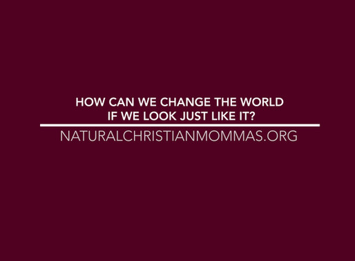 How Can We Change The World If We Look Just Like It?