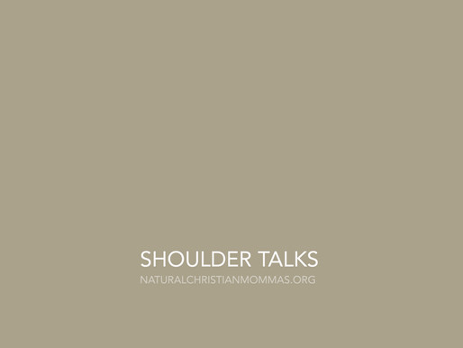 SHOULDER TALKS