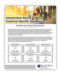 Brown & Brown Employee Benefits Offering