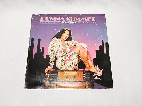 Donna Summer - Greatest Hits on Radio WITH POSTER