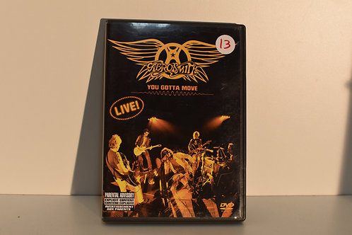 AEROSMITH - YOU GOTTA MOVE