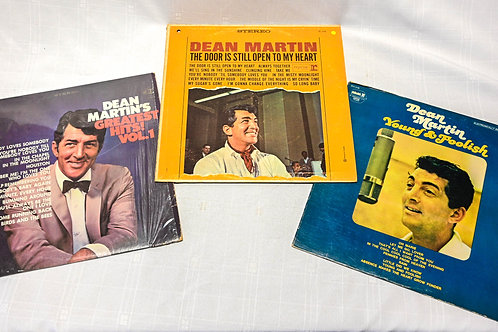 3 Dean Martin Records Bundle