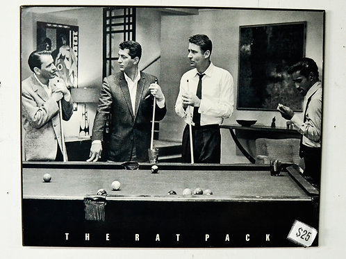 "THE RAT PACK - 19.5"" X 15.5"""