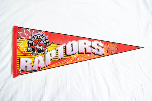 1995 TORONTO RAPTORS FLAG