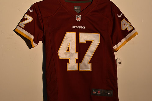 REDSKINS COOLEY JERSEY - SMALL