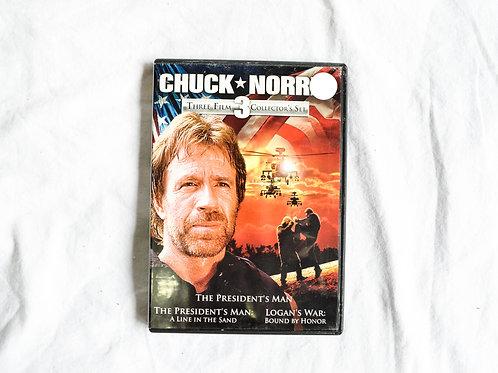 CHUCK NORRIS MOVIE SET