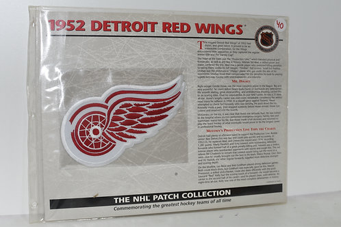 """1952 DETROIT RED WINGS PATCH """"NHL PATCH COLLECTION"""""""