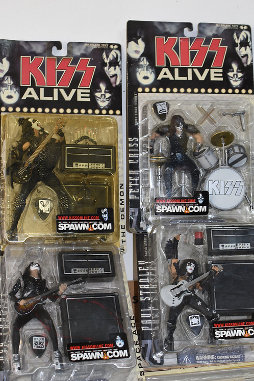KISS ALIVE TOY SET