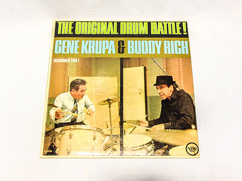 Gene Krupa & Buddy Rich ‎– The Original Drum Battle!