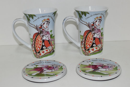ALICE IN WONDERLAND CUP SET