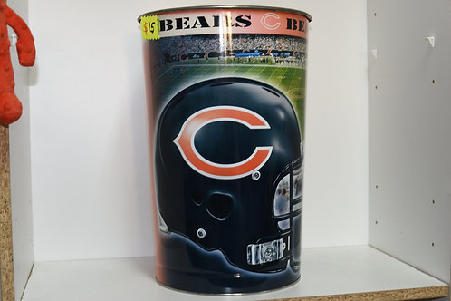 CHICAGO BEARS GARBAGE CAN