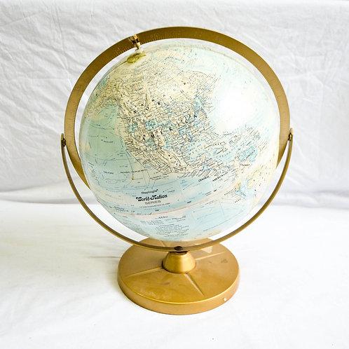 "WORLD GLOBE 12"" Replogle"