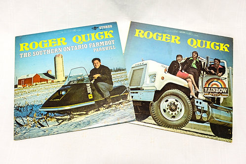Roger Quick - Record Albums BUNDLE
