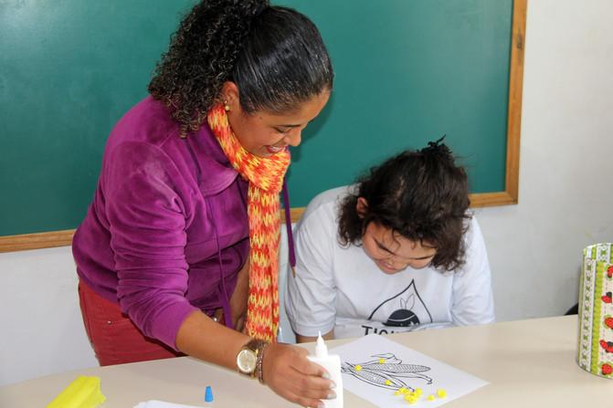 Educando para o Mundo - Prof. Carla da Silva