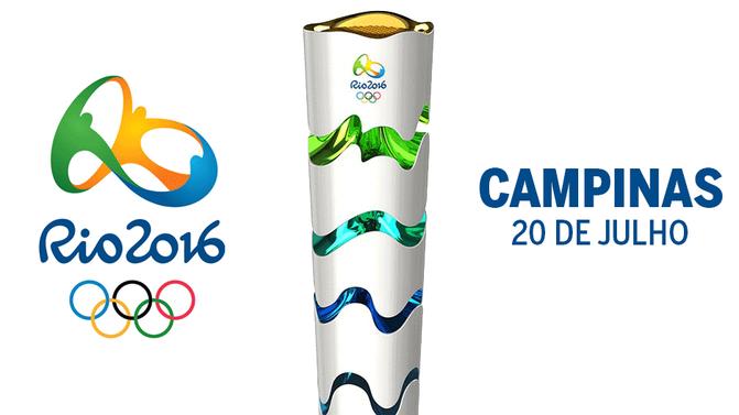 Tocha Olímpica em Campinas