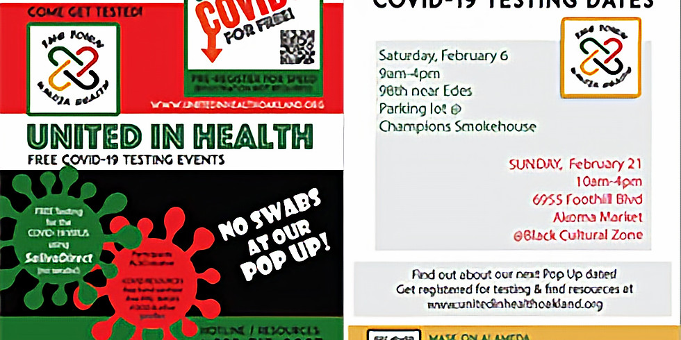 Community COVID testing: Oakland