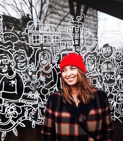 RED #expositionparis #75019 #streetart #