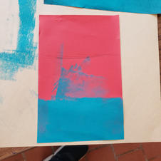 Painting with a Brayer