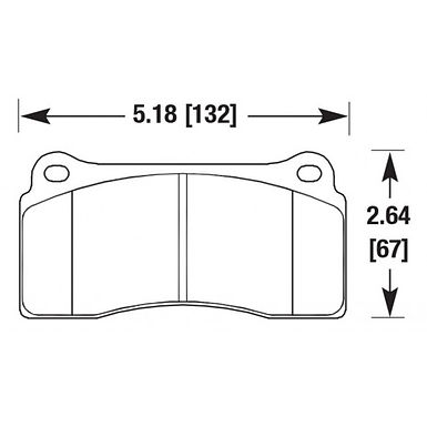 FC4 Street Performance Brake Pads