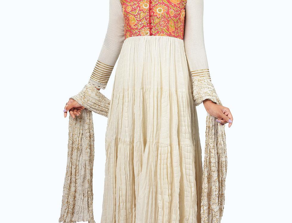 Long Printed Dress_003