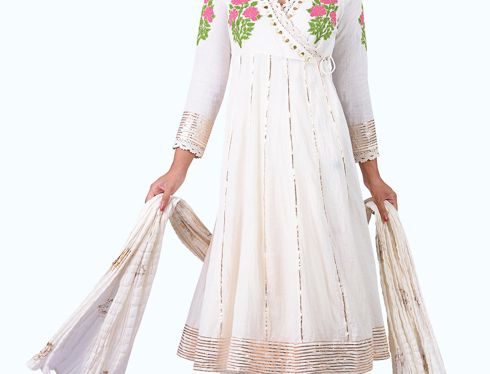 Long Embroidered Angarkha_001