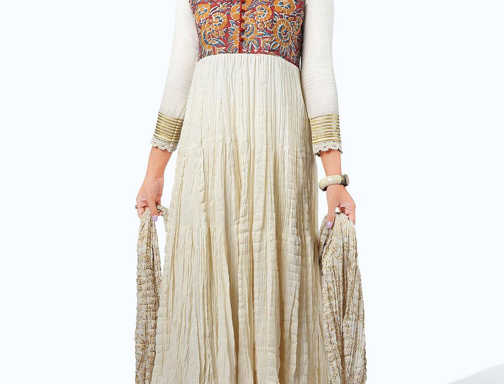 Long Printed Dress_002